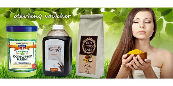 50% sleva na kosmetiku, čaje i parfémy