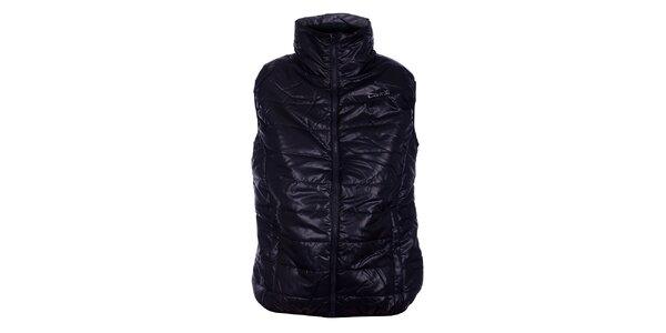 Dámská černá prošívaná vesta Loap