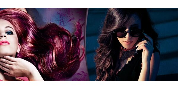 Barvení vlasů kvalitními barvami Oro Therapy 24K v kadeřnickém studiu Tiare