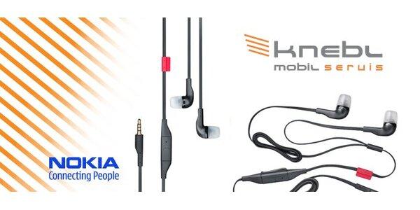 99 Kč za pouzkaz na designová stereofonní sluchátka Nokia WH-205.