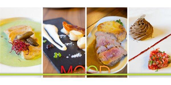 Luxusní valentýnské menu pro dva v restauraci MOOD
