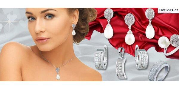 Luxusní stříbrná souprava