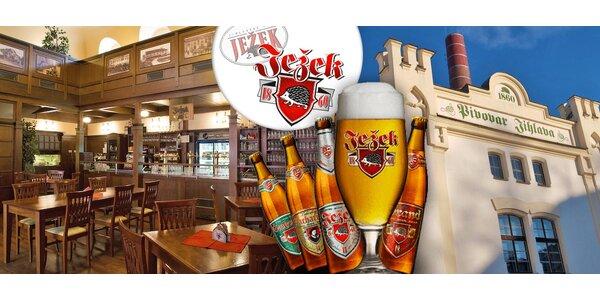 Exkurze, ochutnávka a oběd v pivovaru Ježek