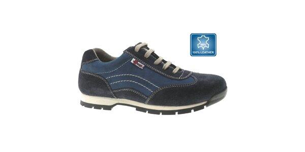 Výprodej pánských zimních bot – vše skladem. Tato kampaň již skončila.  Pánské modré semišové tenisky Beppi d79099f1fc5
