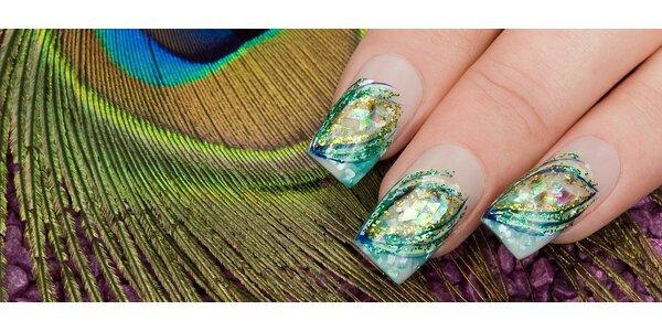 Modelace gelových nehtů vč. nail art