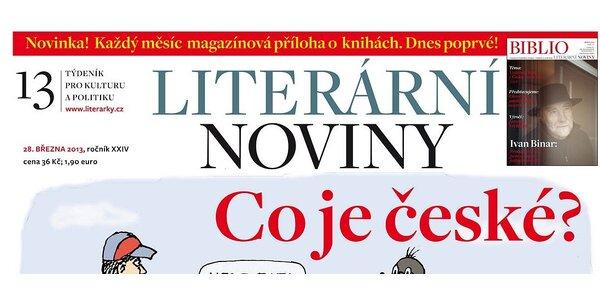 Předplatné Literárních novin