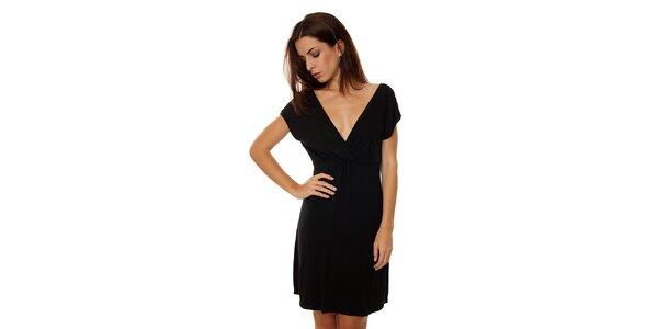 Dámská černá noční košile Calvin Klein