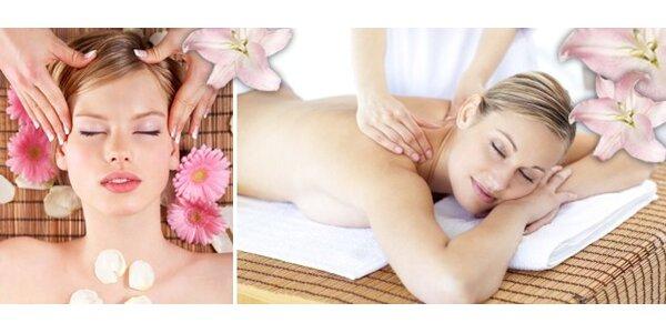 220 Kč za příjemnou 90minutovou uvolňující masáž celého těla.