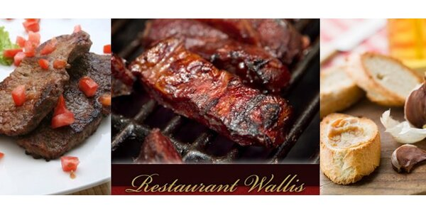 370 Kč za kilo grilovaného masa se zeleninou, pečivem a barbecue omáčkou.