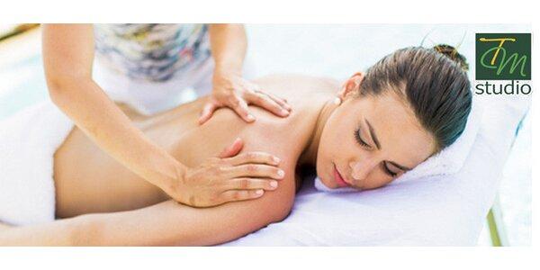 Hodinová masáž pro zdraví a pohodu