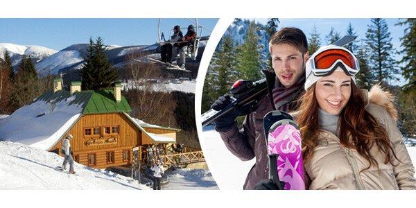 4denní zimní rodinná dovolená ve Špindlerově mlýně přímo na sjezdovce
