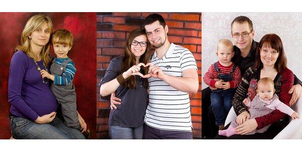 Rodinné nebo těhotenské focení