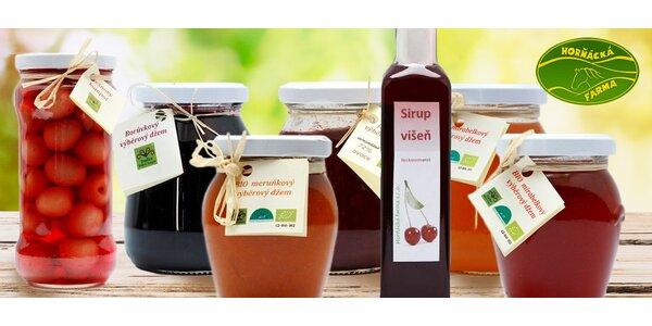 Sety marmelád a kompotů z Horňácké farmy