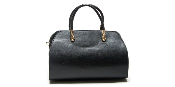 Dámská černá kufříková kabelka Mangotti