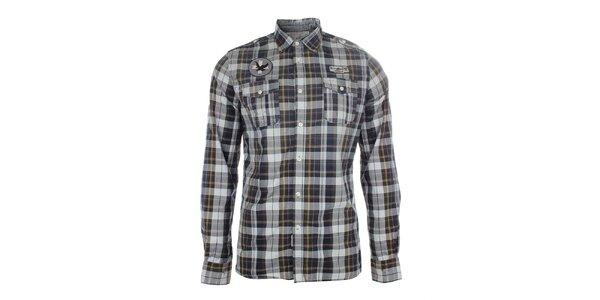 Pánská vzorovaná košile Zu Elements