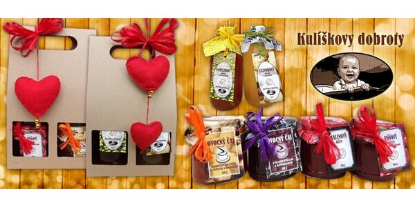 Poctivé sirupy, džemy a čaje z Kulíškových dobrot