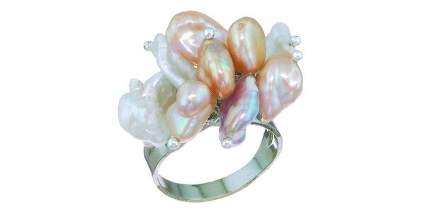 Dámský prsten Orchira s perlami