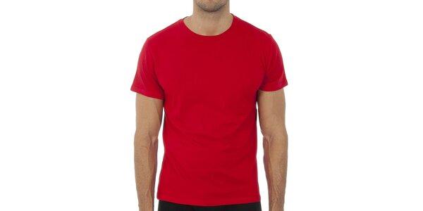 Pánské červené tričko Polo Raplh Lauren