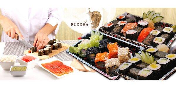 Kurz sushi a japonské kuchyně v Café Buddha