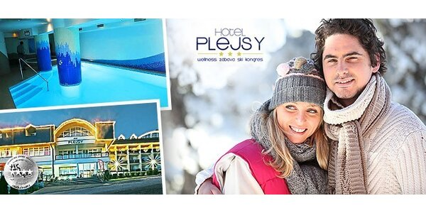 Jarní relax pro dva v hotelu Plejsy na Slovensku