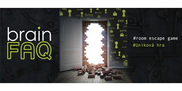 Úniková hra BrainFAQ - přesvědčte Váš mozek, že na to máte
