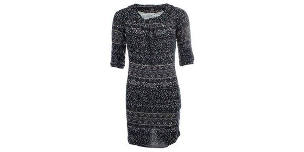 Dámské šaty s jemným vzorem Iska