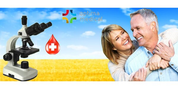 Darkfield mikroskopie kapky krve - prevence vašeho zdraví