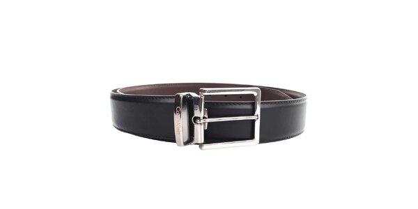 Pánský hnědo-černý pásek Calvin Klein - oboustranný