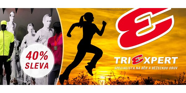 40% sleva na běžecký textil v Triexpertu
