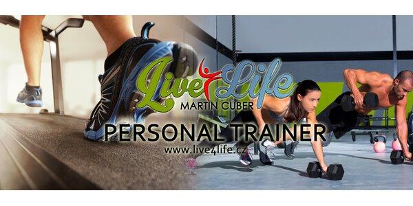 2x Fitness lekce s osobním trenérem + jídelníček