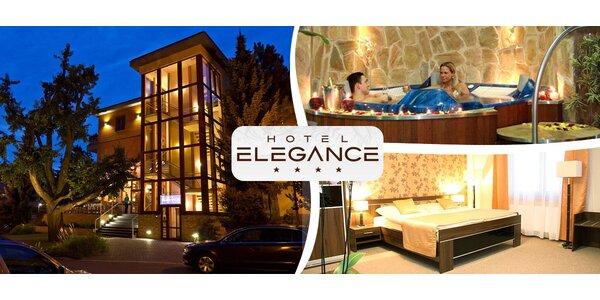 3denní wellness pohodička v Hotelu Elegance****
