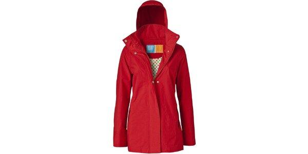 Dámská červená bunda do deště Happy Rainy Days