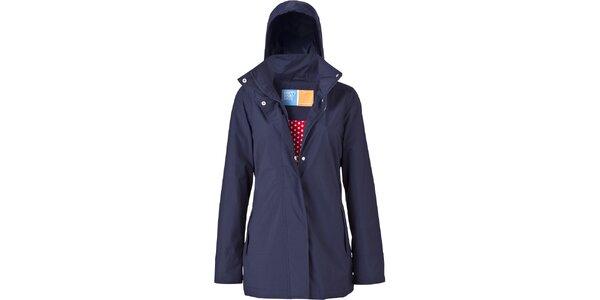 Dámská tmavě modrá bunda do deště Happy Rainy Days
