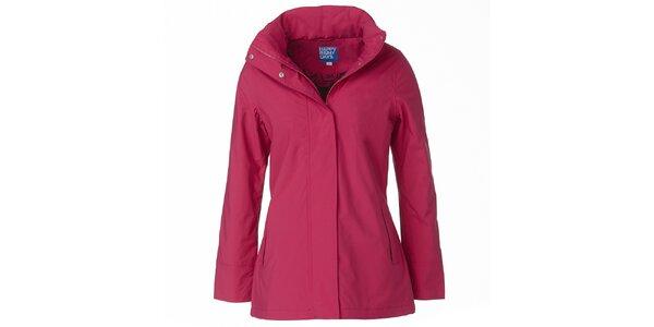 Dámská růžová bunda do deště Happy Rainy Days