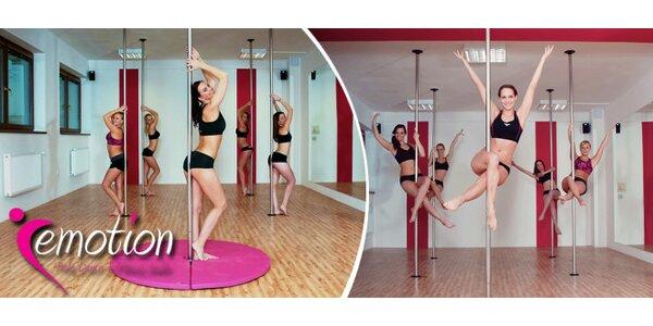 Svůdná akrobacie na tyči - vyzkoušejte Pole Dance