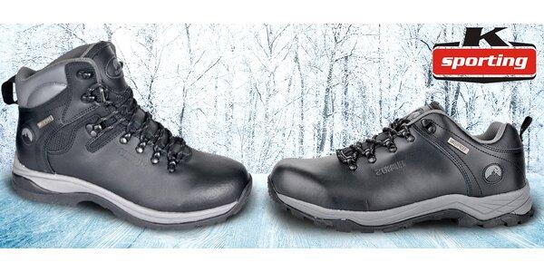 Pánská kožená outdoorová obuv Elbrus