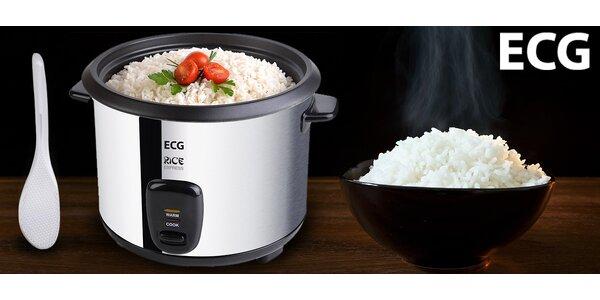 Praktický nerezový rýžovar ECG