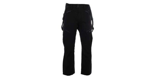Pánské funkční lyžařské kalhoty v černé barvě Trimm