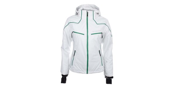 Dámská bílá lyžařská bunda Trimm