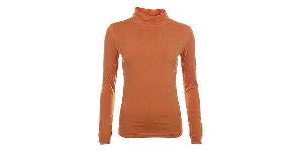 Dámské funkční oranžové tričko s rolákem Trimm