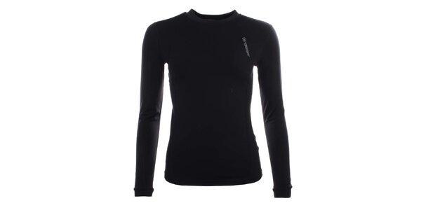 Dámské černé funkční tričko s dlouhým rukávem Trimm