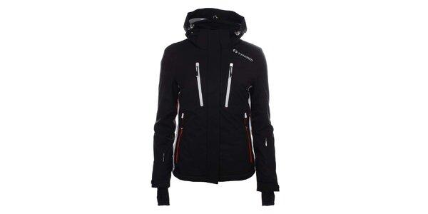 Dámská černá lyžařská bunda s kapucí Trimm