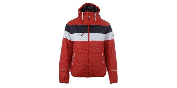 Pánská červeno-bílá bunda do zimy Trimm