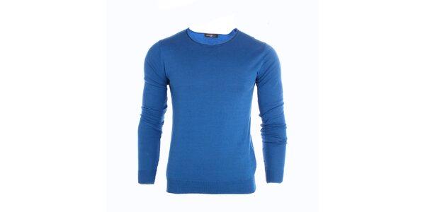 Pánský modrý svetr Pietro Filipi