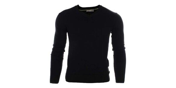 Pánský černý svetr Pietro Filipi