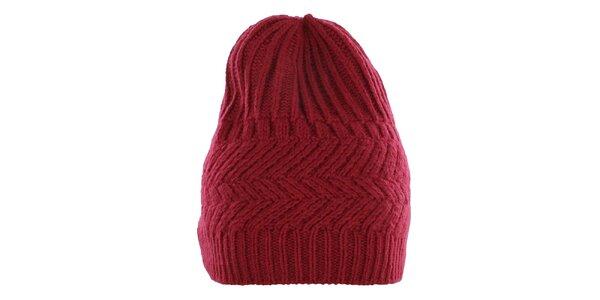Pánská červená čepice Pietro Filipi