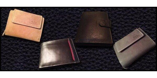 Kvalitní peněženky z pravé kůže