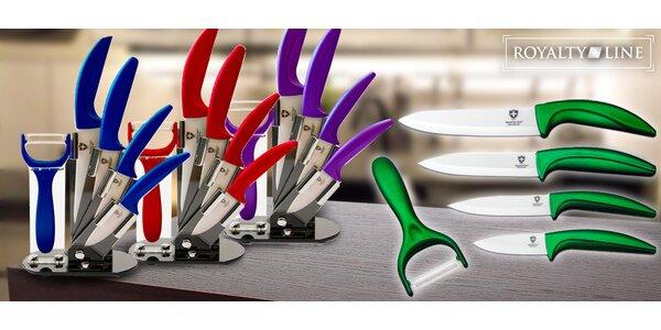 Set keramických nožů + škrabka