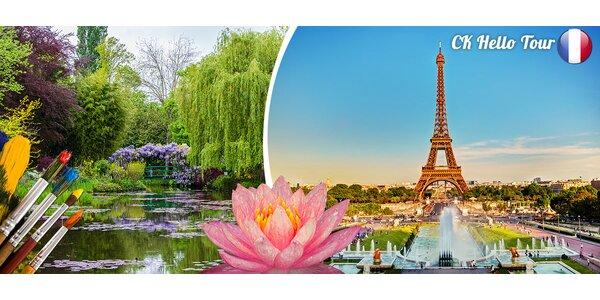 Jarní Paříž a Monetovy zahrady pro 1 osobu