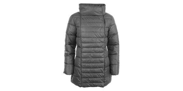 Dámský prošívaný kabát s límcem Big Star
